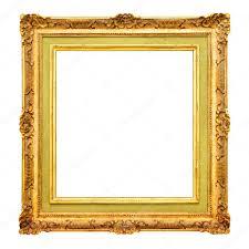 antique frame border. Old Gold Frame Border \u2014 Stock Photo Antique O