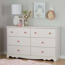 Nursery white furniture Baby Girl Lily Rose 6drawer White Wash Dresser Home Depot Nursery Dressers Armoires Baby Furniture The Home Depot