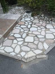 repairing loosen patio flagstones polymeric sand vs envirobond sand vs mortar