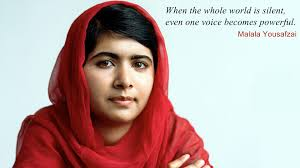 Malala Quotes Interesting Inspirational Malala Yousafzai Wallpapers Desktop Phone Tablet