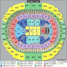 Clippers Seating Chart Staples Center Seating Map Bampoud Info