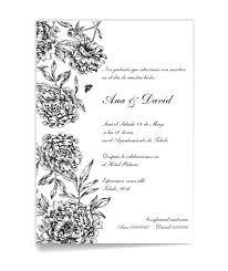 formato de invitaciones de boda invitaciones de boda elegantes