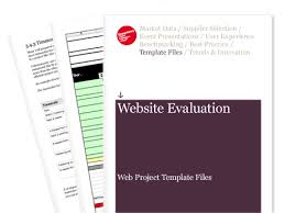 Website Evaluation - Web Project Template Files | Econsultancy