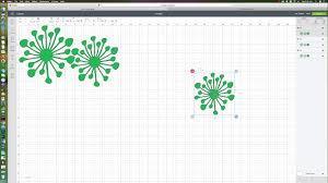 Giant Paper Flower Svg How To Size The Flat Center Svg Into Your Design Space For Your