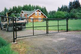 chain link fence driveway gate. Wonderful Gate Back Vinyl Driveway Gate Vinyl Chain Link Sturdy Weld Frame Driveway  Gate The Fenceman Fence Company Installs Wood On Chain Link E