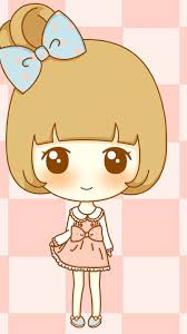 Wallpaper Iphone Cute Girl Cartoon ...
