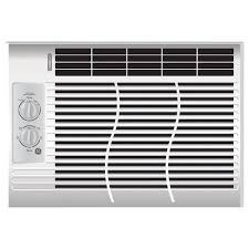 Home Air Conditioner Ge 5000 Btu 115 Volt Room Window Air Conditioner Ael05lv The