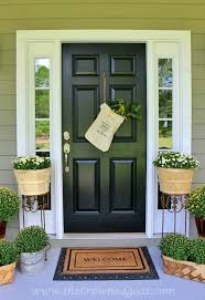 what color to paint front doornon fade front door paint  Modern Masters Cafe Blog