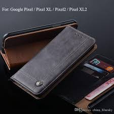leather case for google pixel 2 xl 2 wallet flip case with slot luxury vintage design waterproof cell phone case best cell phone cases from china bluesky