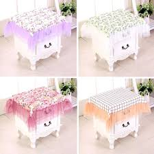 nightstand tablecloth