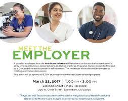 meet the employer at escondido school