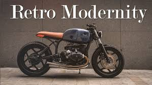 cafe racer bmw r80 by auto fabrica youtube