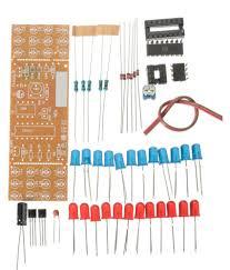 Electronic Light Board Buy Diy Two Color Led Flashing Light Electronic Kit Circuit