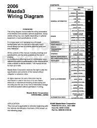 2006 mazda 3 wiring diagram original mazda3 2005 mazda 3 stereo wiring diagram at 2006 Mazda 3 Wiring Diagram