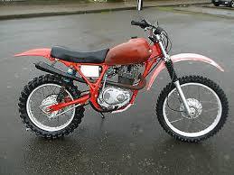1981 honda xl 500 motorcycles