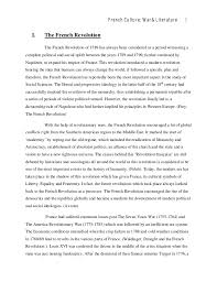 research paper theme understanding french literature art and culture french