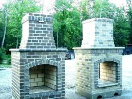 stone fireplace kits outdoor for tone ontario full size
