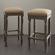 30 inch backless bar stools. Exellent Backless Renate Linen Bar Stools Set Of 2 Seat High 30 Inch Dining Chair Kitchen And Inch Backless B