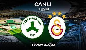 Giresunspor Galatasaray maçı canlı izle! BeIN Sports Giresun GS maçı canlı  skor takip! - Tüm Spor Haber