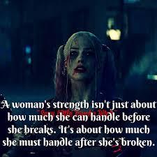 Strength Darkness Falls Harley Quinn Joker Harley Quinn Joker