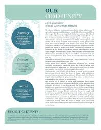 Music Newsletter Templates Templates For Newsletter Music Newsletter Template Template
