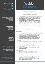 The Functional Resume Template Examples Writing Guide Rg