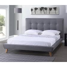 scandinavian platform bed. Perfect Bed Baxton Studio Jonesy Scandinavian Style Midcentury Upholstered Platform Bed  Multiple Sizes Colors  Walmartcom And Bed