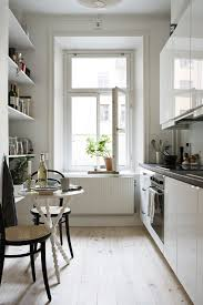 Good Stylish And Functional Super Narrow Kitchen Design Ideas