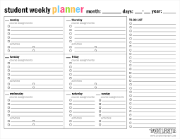 Planner Printables For Students Planner Printables For Students Major Magdalene Project Org