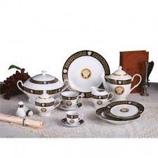 Столовый сервиз фарфор 57 предметов Zillinger Varro Gold ...