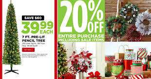 Now through November 12th, head on over to Michaels where you can score  this Celebrate It 7 Ft. Pre-Lit Pencil Artificial Christmas Tree with 210  Clear ...