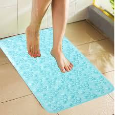 kuber industries non slip bathroom mat bathtub mat shower mat bath mat