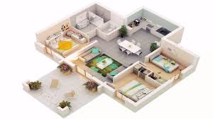 House Design Ground Floor Plan 3 Bedroom House Ground Floor Plans 3d See Description