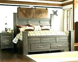 wood bed frame with drawers – korobistables.co