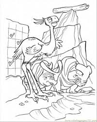 Small Picture Carl And Frank Coloring Page Free Ice Age Coloring Pages