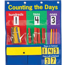 Counting The Days Pocket Chart Teaching Gadgets Circle