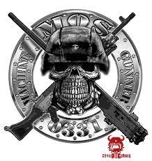 Usmc 0331 Usmc 0331 Machine Gunner Mos Decal