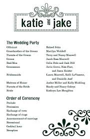 Printable Wedding Program Templates Simple Wedding Programs Templates Rome Fontanacountryinn Com