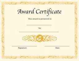 certificate of recognition templates best 25 certificate of recognition template ideas on pinterest