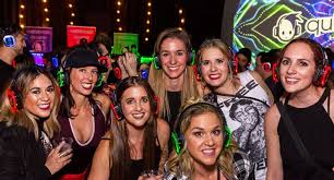 quiet events invades the bohemian beer garden silent disco for another summer of dancing and fun enjoy the warm weather in this outdoor space