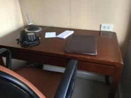 old office desk. The Linden Suites: Dusty Old Office Desk After Dusting Off R