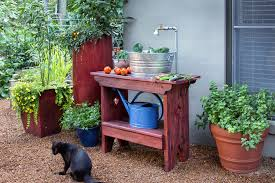 good how to build an outdoor sink bonnie plants with mobile garden