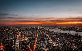 New York 4K Sunset Wallpapers - Top ...