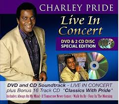 charley pride live in concert cd dvd classics with pride cd