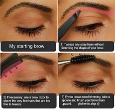 makeup tutorials how to fill in eyebrows