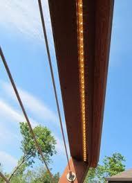 led deck rail lights. LED Lights And Cable Deck Railing Idea Led Rail