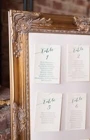 Vintage Wedding Seating Charts