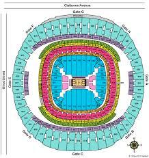 Mercedes Benz Stadium Seat Map