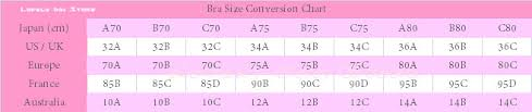 Korean Bust Size Chart Www Bedowntowndaytona Com