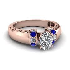 Oval Shaped Diamond Ring Design Zigzag Design Diamond Ring